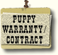 Puppy Warranty Contract
