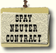Spay Neuter Contract